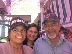 Noelani Au-Leung, Amber Biven, & dad Champ Biven 10-8-2017
