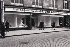 Obchodná ulica 4, OD Pionier v roku 1949 Bratislava, Nostalgia, Photography, Times, Cinema, Photograph, Fotografie, Photo Shoot, Fotografia