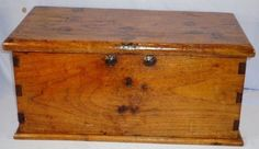 us navy or royal navy 18th century enlisted sailors or seamans sea chest