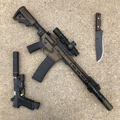 Zombie Weapons, Weapons Guns, Airsoft Guns, Guns And Ammo, Armas Ninja, Custom Guns, Cool Guns, Assault Rifle, Military Weapons