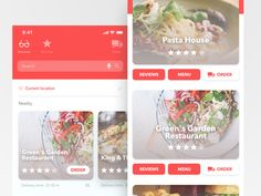 113 Best Food Delivery Apps images in 2018 | App design, App ui