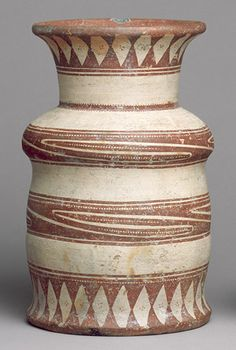 Jar, Ban Chiang type, ca. 300 B.C.–200 A.D.  Thailand  Earthenware with painted decoration; H. 10 7/8 in. (27.6 cm)