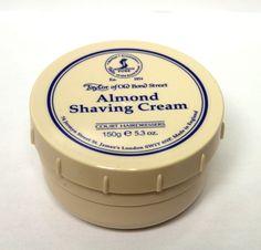 Taylor of Old Bond Street Shaving Cream (5.3 OZ) -Almond