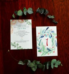Paper Goods Art – Invitatii evenimente nunta wedding personalized invitation