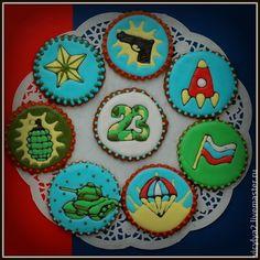 "ручная работа ""23"" прянички-медальоны. Handmade."