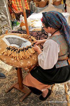 Astur Mercau of Porrua, Asturias, Spain Asturian, Spain Culture, Asturias Spain, Paraiso Natural, First Humans, Spain And Portugal, Lace Making, My Heritage, Bobbin Lace