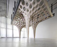 La Voûte de LeFevre by Matter Design Studio at the Knowlton School of Architecture, The Ohio State University
