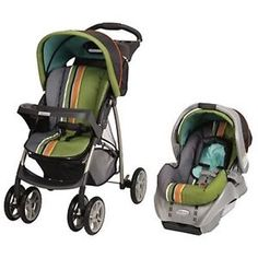 Graco Literider Classic Connect Travel System in Gecko Stroller Car Seat Combo | eBay