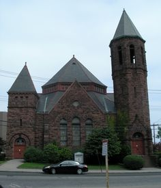 First Baptist Church of Bridgeport, Ct., circa 1893
