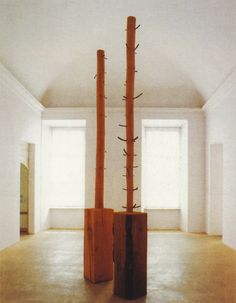 Giuseppe Penone Giuseppe Penone, Neo Dada, Art Installation, Land Art, Wood Sculpture, Pop Art, Contemporary Art, Furniture, Collection