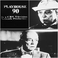 "PLAHOUSE 90, ""No Time at All"" 1958. All star cast including Buster Keaton. #BusterLove"
