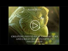"""Aaron Blaise """"Creating Photo Real Creatures in Photoshop"""" - Adobe Max Se..."""