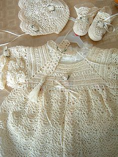 Ravelry: Avalanche's Christening Gown & Accessories