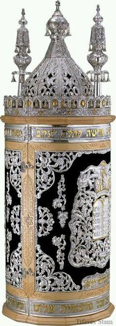 Sephardic Sefer Torah Ornament