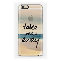 Take Me Away Vintage Beach - iPhone 6s Case,iPhone 6 Case,iPhone 6s... ($40) ❤ liked on Polyvore featuring accessories, tech accessories and casetify