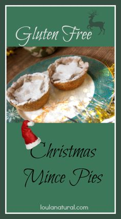 Gluten Free (fruit- think apples, sultanas and nuts rather than beef!) Mince Pies. Perfectly moreish snack, for lunchboxes and desserts leading up to Christmas. Low in sugar and high in healthy fats and protein for the homemade gluten free pastry. Great recipe to finish any traditional holiday meal. Loula Natural