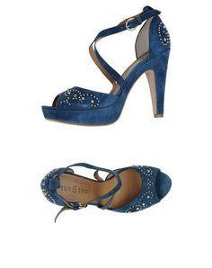 Sandali marinari blu navy per donna NeD4z6r