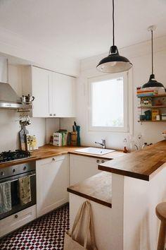 Home Decor Kitchen, Diy Kitchen, Kitchen Interior, Home Kitchens, Awesome Kitchen, Kitchen Small, Small Kitchens, Beautiful Kitchen, Rustic Kitchen