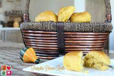 Southern Mom Loves: Day 4: Pumpkin Dinner Rolls {#12DaysOf Thanksgivin...