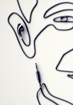 earplug portrait