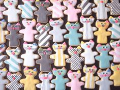 kitty cookies | Moppy