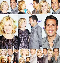 zachary levi and yvonne strahovski at nbc summer tca 2011 #LOVE