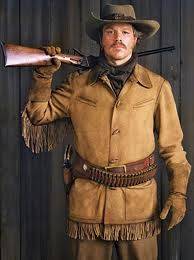 Matt Damon. True Grit, His costume was a great reflection of his character (Texas ranger). You can't hear the over-exaggerated spurs clinking.