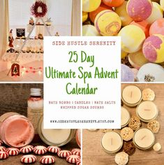 🎄🛁 PRE-ORDER Ultimate Serenity Advent Calendar 🎁🎅🏻| Bath Bombs | Candles | Bath Salts | Whipped Sugar Scrub | Spa Advent Calendar | Countdown Gift www.sidehustleserenity.etsy.com