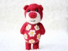 My little felt bear companion