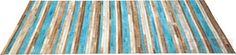 Carpet Stripes Aqua 170x240cm
