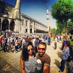 SMILE BLUE MOSQUE!  #Istanbul #Turkey #BlueMosque #Sultanahmet #Travel #TravElDiaries #Holiday #Turkish