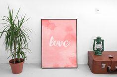 Un favorito personal de mi tienda Etsy https://www.etsy.com/es/listing/399560623/love-lamina-digital-print-ilustraciones