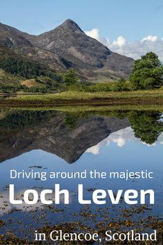Loch leven, glencoe scotland – video, photos and planning info Scotland Travel Guide, Europe Travel Tips, Ireland Travel, Travel Goals, Travel Destinations, Scotland Trip, Scotland Vacation, Travel Abroad, European Travel