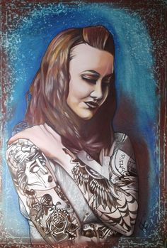 """""""Something old Something new - EE graphite, Brow colour pencil, Pencil, Pastel on 77 x 110cm acid free 200gms paper"""