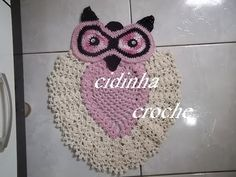 [Photo Tutorial] Beautiful Owl Rug - With A Twist! - Page 2 of 2 - Knit And Crochet Daily