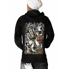 Time Is Running Out Zip Hoodie