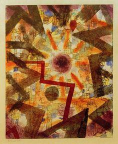 Paul Klee - Und es ward Licht, 1918,