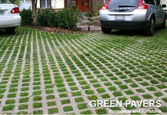 Green Pavers Retaining Wall Pavers, Manufactured Stone, Cape Cod, Garden, Home Decor, Products, Cod, Garten, Decoration Home