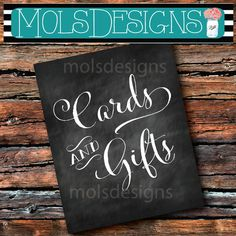 INSTANT DOWNLOAD CARDS & Gifts 8x10 Sign Chalkboard Sign In Guest Book Gift Table Wedding Couples Baby Birthday Sprinkle I Do Bbq Shower