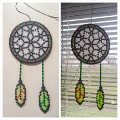 Dreamcatcher hama beads by gasbjerg