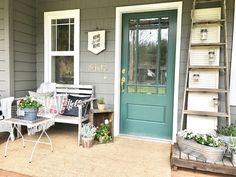 Little Farmstead: Our Farmhouse (Spring!) Porch...