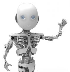 """The University of Zurich's Artificial Intelligence Laboratory (AI Lab) is building a robot toddler called """"Roboy. Impression 3d, Robot Humanoïde, Ai Lab, Eos, Arduino Uno, Futuristic Robot, Humanoid Robot, Robot Design, Artificial Intelligence"""