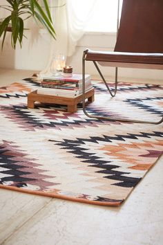 Magical Thinking Elmas KilimWoven Rug - Urban Outfitters