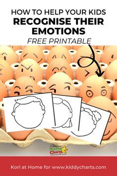 If you want to help your kids recognise their emotions in a better way then we have a fab and free printable for you! Worry Tree, Emotion Faces, Kids Planner, Free Activities For Kids, Curious Kids, Mindfulness For Kids, Charts For Kids, Play Therapy, Kids Health