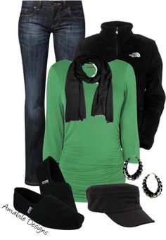 """Comfy cozy emerald"" by amabiledesigns on Polyvore"