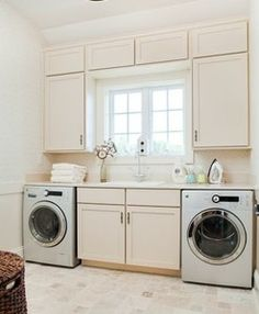Washer/Dryer Combo with Extra Storage - RTA Kitchen Cabinets ...
