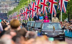 Queen in no mood to be late as her 90th birthday street party is held in the…
