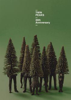 :: Bronce Laus 2013   Cartel    Twin Peaks 20th Anniversary    Autor: Javier Jaén    Client: Twin Peaks Prod. Inc. SnowBright Prod. ::