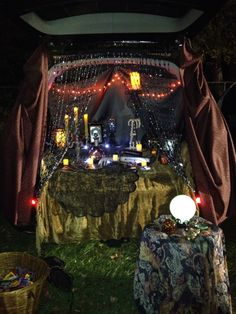 Trunk or treat.. 2014 Fortune teller style