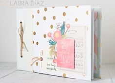 La Mar de Scrap: Tutorial: Libro de firmas